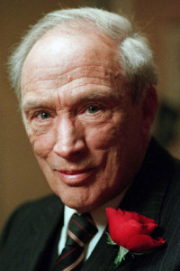 Pierre Trudeau is shown in a Nov. 8, 1993 file photo.