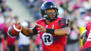 Veteran quarterback Henry Burris, fresh from Ottawa Redblacks' CFL East Final against Hamilton TiCats, is expected to star in this Sunday's 103rd Grey Cup in Winnipeg. CBC photo.