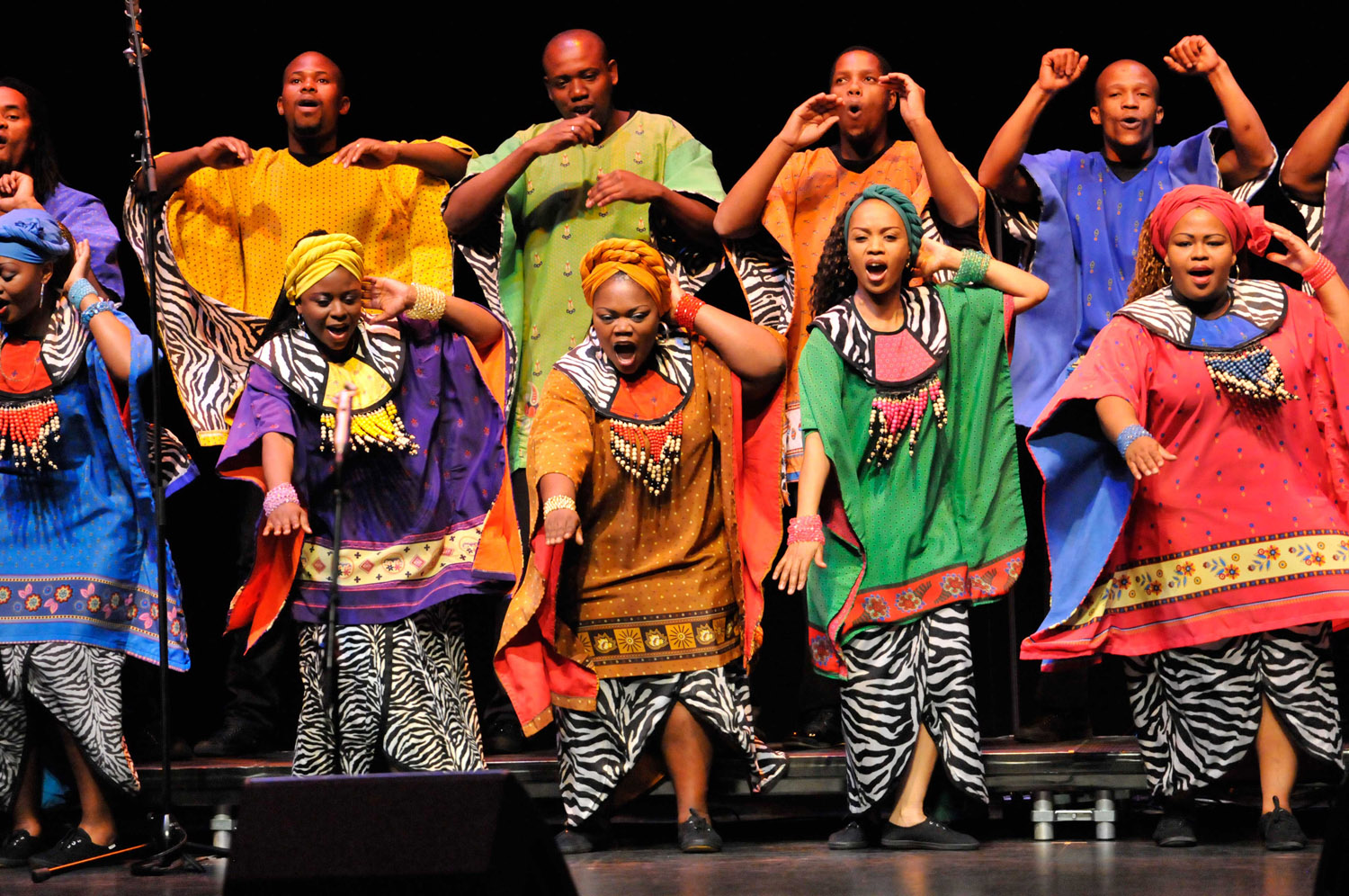 "Soweto Gospel Choir - ""an international treasure"" - will be at the Sony Centre on Dec. 4."