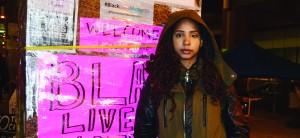 Yusra Khogali, a co-founder of Black Lives Matter Toronto chapter. Gerald V. Paul photo.