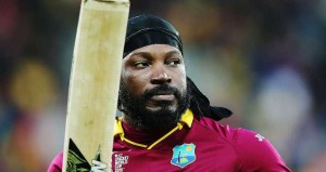 Does Chris Gayle know it's how you use your bat that counts in cricket?