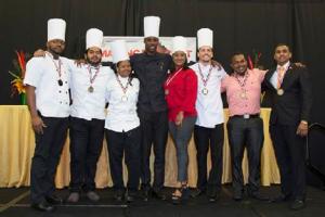 The 2016 Trinidad and Tobago National Culinary Team.