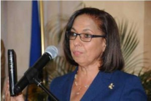 Minister of Labour and Social Security Shahine Robinson