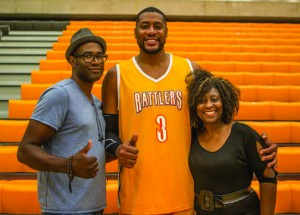Behind the scenes with Raptors Player and Actor Jamaal Magloire and Creators Jennifer Holness and Sudz Sutherland