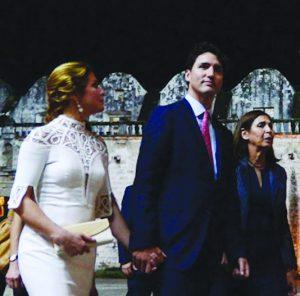 Justin and Sophie Gregoire - Trudeau in Havana
