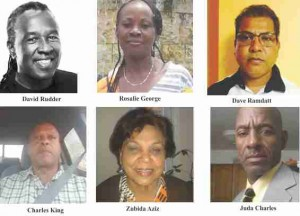 David Rudder Calypsonian Rosalie George  Personal Support Worker Daniel Ramdatt Businessman Charles King Technician  Zubida Aziz    Senior Travel Consultant  Juda Charles  Construction Worker