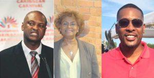 Chris Alexander FMC, Monica Pollard  CAG  and   Jamaal Magloire TMBA