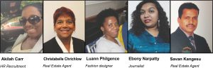 Answers this week by: Akilah Carr, Christabelle Chrichlow, Luann Philgence, Ebony Narpatty and Savan Kangesu