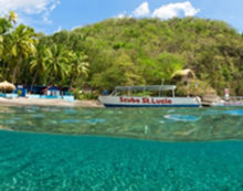 St. Lucia offers professional diver instructor training at scenic Anse Chastanet