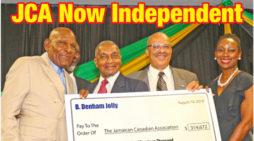 Denham Jolly's $312,000 gift leaves JCA mortgage free