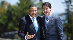 Trudeau discusses COVID-19 pandemic  with Jamaican  Prime Minister