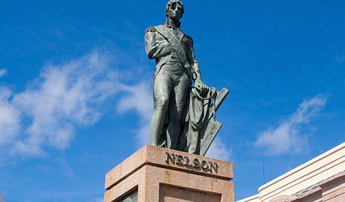 Mottley underscores importance of emancipation  with removal of Lord Nelson's statue