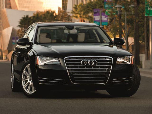 2012-Audi-A8-Black-Front-Parked