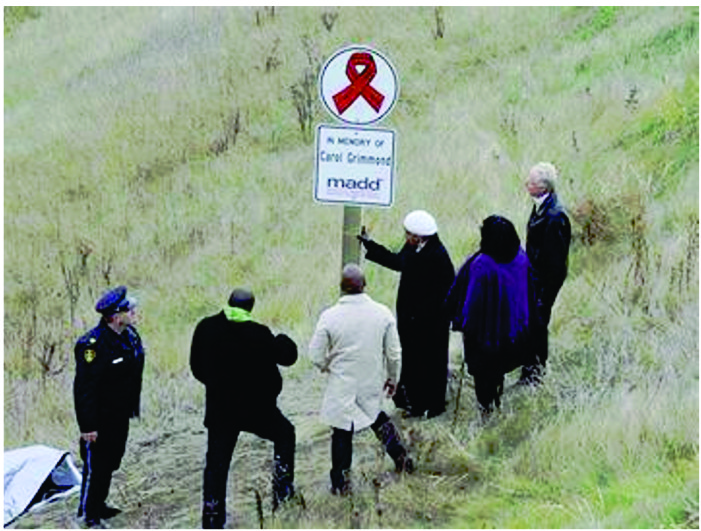 MADD memorial warns against drunk driving