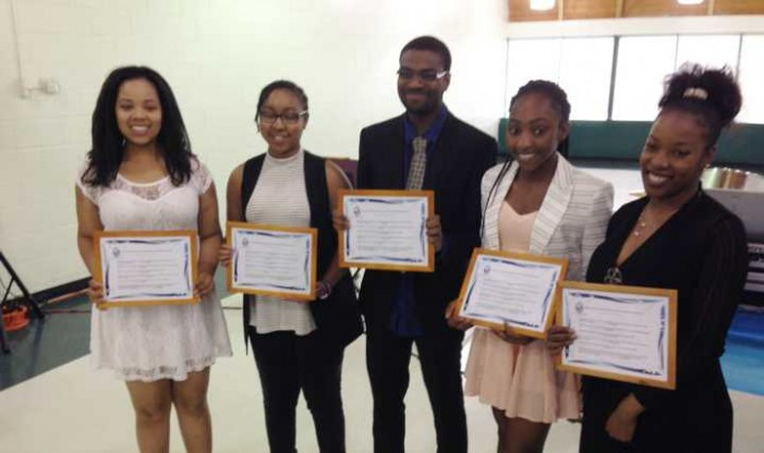 Club awards scholarships to deserving youth