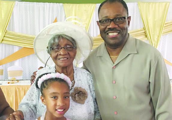 Family reunion for birthday of Trinidadian centenarian