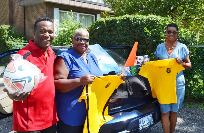Tranquillity  Alumni 'giving  back 'to school in Trinidad