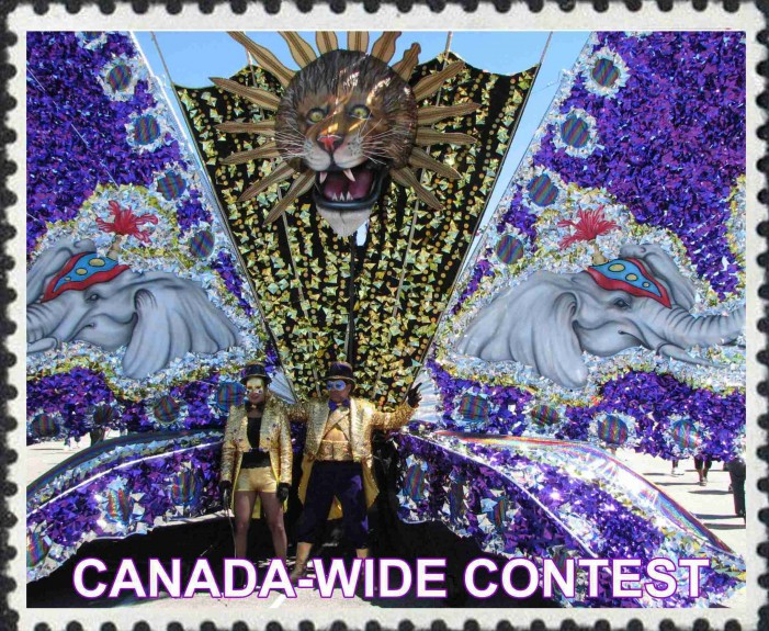 The Caribana stamp competition