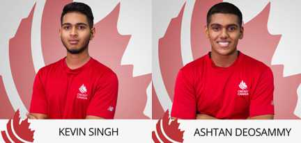 Two players with Guyanese roots in Canada Under-19  World Cup squad