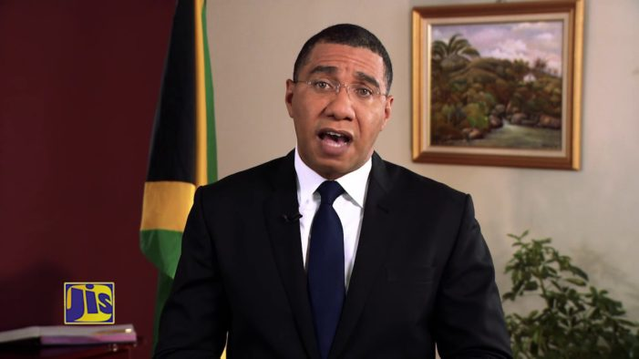 Jamaican prime minister urges artistes to promote peace and love through music