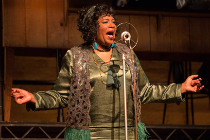 Alana Bridgewater is singing the blues  down at the Soulpepper Theatre