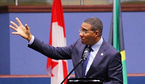 Holness appeals to OACPS to mount a campaign to assist developing countries
