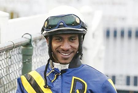 Barbadian jockey wins Western Canada Handicap
