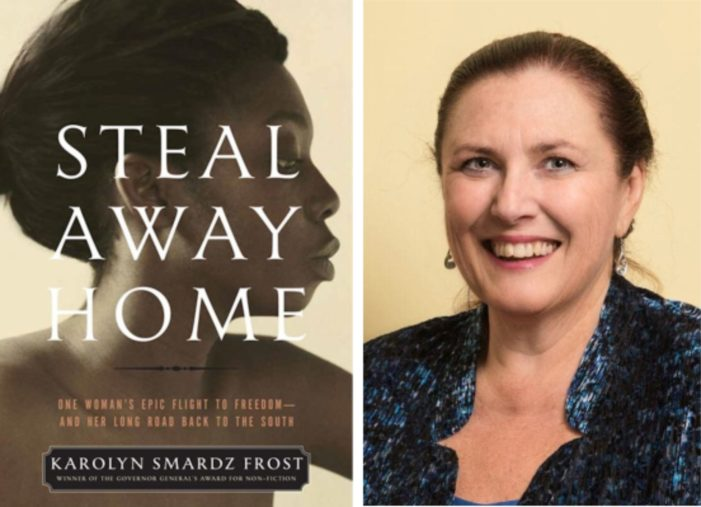 Book about the Underground Railroad wins Ontario award