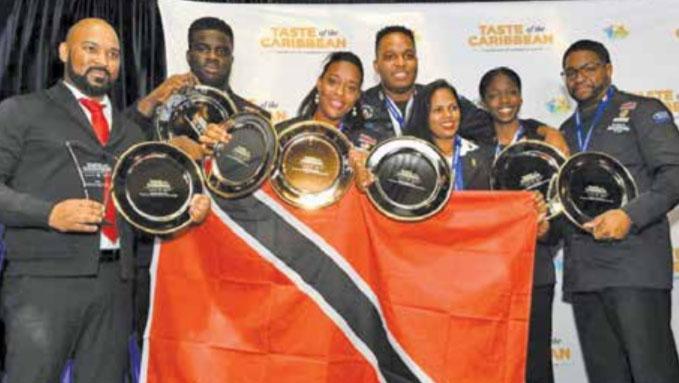 Trinidad-Tobago and Bahamas win top culinary honours