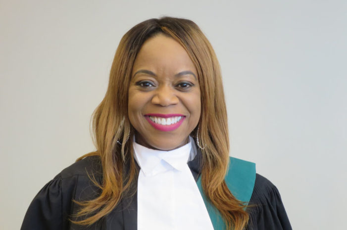 Martha De Gannes appointed regional  senior Justice of the Peace