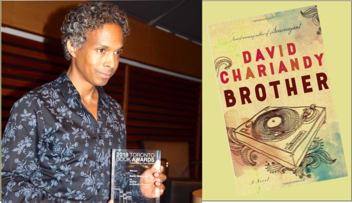 David Chariandy wins the $220,000 Windham Campbell Prize