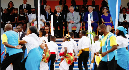 Prince Charles arrives in St. Lucia as first stop on Caribbean tour
