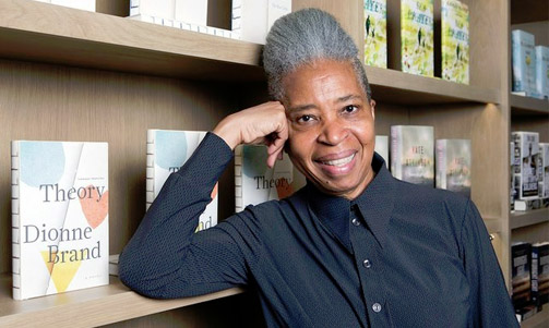 Dionne Brand on shortlist  for  Griffin Poetry prize