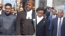 Former Trinidad-Tobago Attorney General and Opposition Senator appear in court on corruption charges