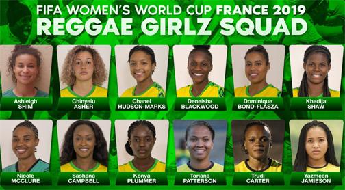 Jamaica's Reggae Girlz are ready for the world