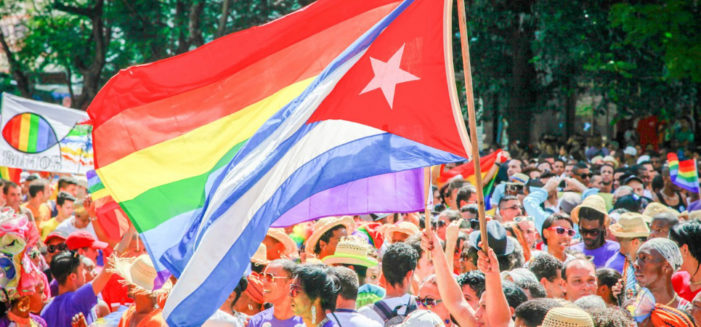 Cuban LGBT activists defy government, hold unprecedented pride parade