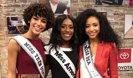 Black women crowned Miss America, Miss USA and Miss Teen USA