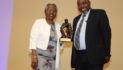Valarie Steele receives BADC Legend Award