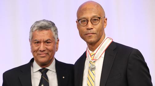Frank Walwyn Receives 2019 Law Society Medal