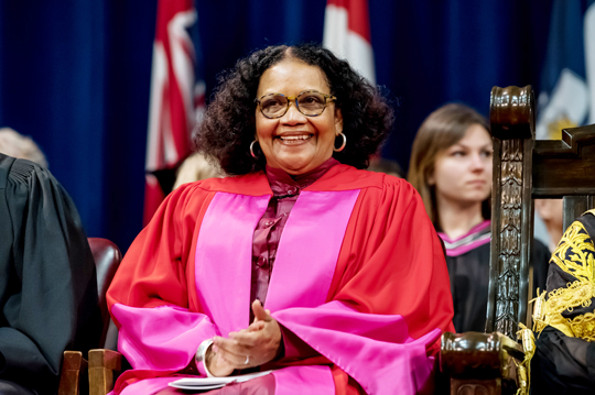 U of T honours Jamaican Poet Lorna Goodison with Doctor of Laws degree