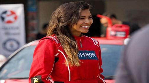Jamaican race car driver Natasha Chang breaks Guinness World Record