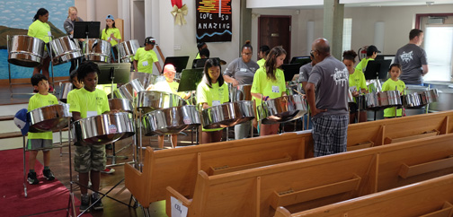 Hope Lutheran's gift of hope and music