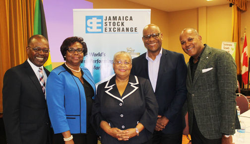 Jamaica Stock Exchange is running hot and Canada wants in