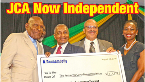 Denham Jolly's $312,000 gift leaves JCA mortgage free
