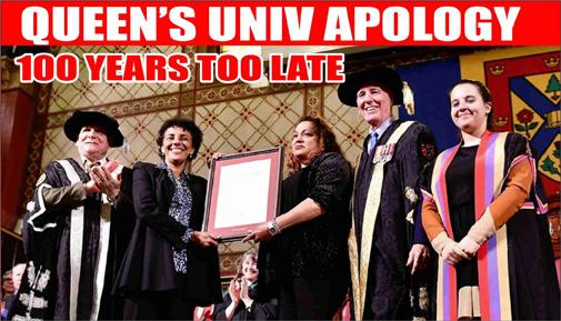 """Queen's University """"dark"""" past"""