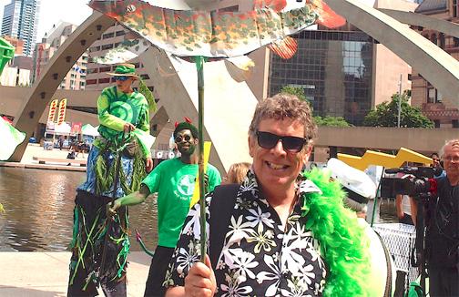 Roger Gibbs bids goodbye to Toronto Caribbean Carnival (FMC)
