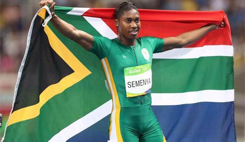 Caster Semenya will get her 2011 gold medal