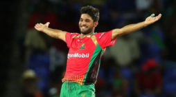 Spinners take Guyana Amazon Warriors to the top
