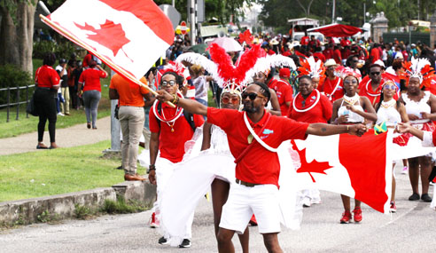 Canadian contingent makes lasting impact at CARIFESTA