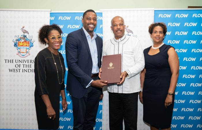 UWI signs TV partnership with Flow [TV]